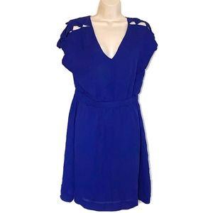 Loeffler Randall Sz 6 100% Silk Dress Fully Lined